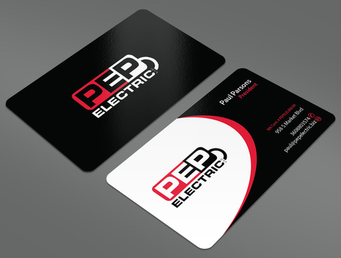 PEP Electric LLC Business Cards and Stationery  Draft # 34 by ArtworksKingdom