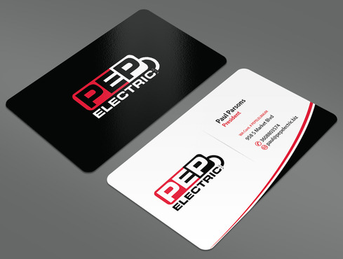 PEP Electric LLC Business Cards and Stationery  Draft # 39 by ArtworksKingdom