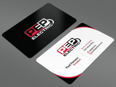 PEP Electric LLC Business Cards and Stationery  Draft # 41 by ArtworksKingdom