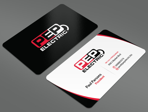PEP Electric LLC Business Cards and Stationery  Draft # 44 by ArtworksKingdom