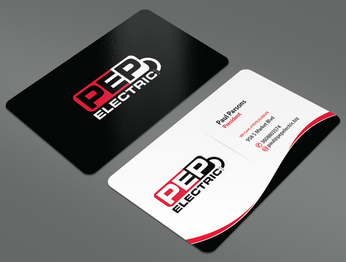 PEP Electric LLC Business Cards and Stationery  Draft # 51 by ArtworksKingdom
