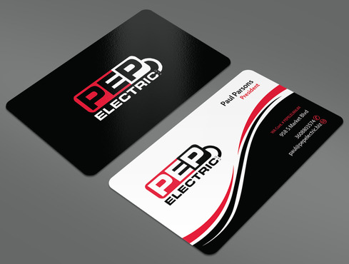PEP Electric LLC Business Cards and Stationery  Draft # 52 by ArtworksKingdom