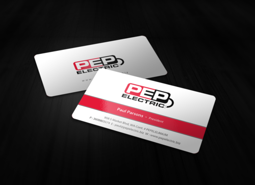 PEP Electric LLC Business Cards and Stationery  Draft # 143 by einsanimation