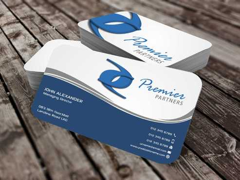 Premier Partners Business Cards and Stationery  Draft # 142 by Dawson