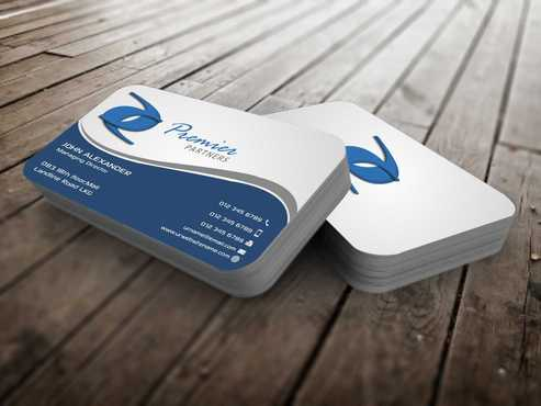 Premier Partners Business Cards and Stationery  Draft # 145 by Dawson