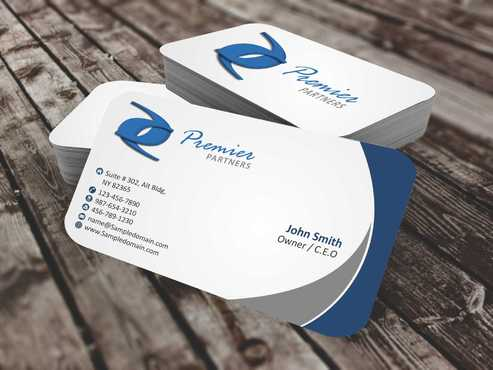 Premier Partners Business Cards and Stationery  Draft # 148 by Dawson