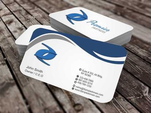Premier Partners Business Cards and Stationery  Draft # 149 by Dawson