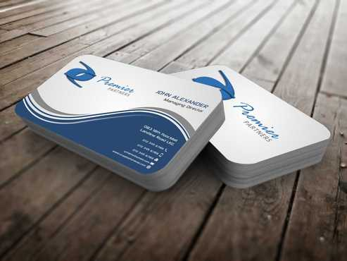 Premier Partners Business Cards and Stationery  Draft # 150 by Dawson