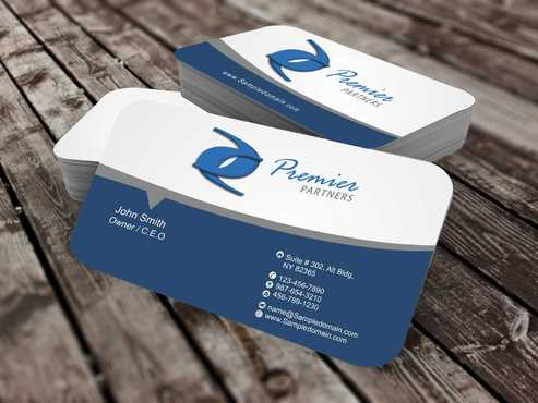 Premier Partners Business Cards and Stationery  Draft # 151 by Dawson