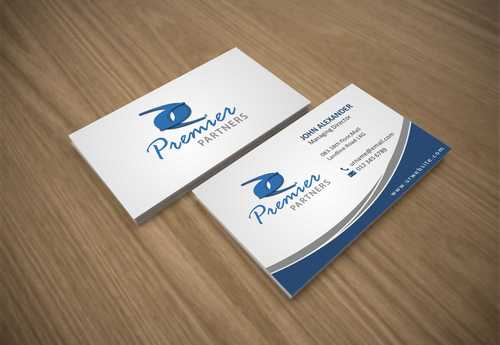 Premier Partners Business Cards and Stationery  Draft # 154 by Dawson