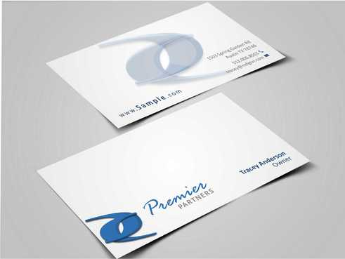 Premier Partners Business Cards and Stationery  Draft # 160 by Dawson