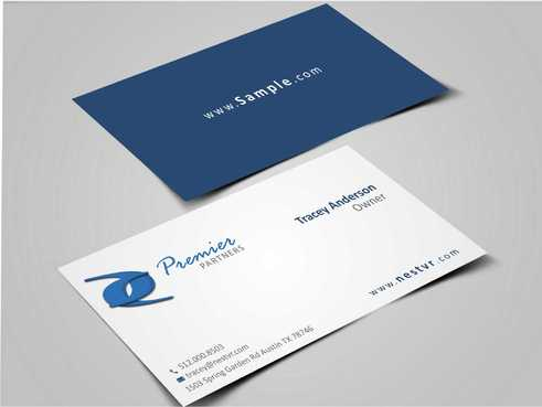 Premier Partners Business Cards and Stationery  Draft # 161 by Dawson