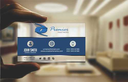 Premier Partners Business Cards and Stationery  Draft # 165 by Dawson