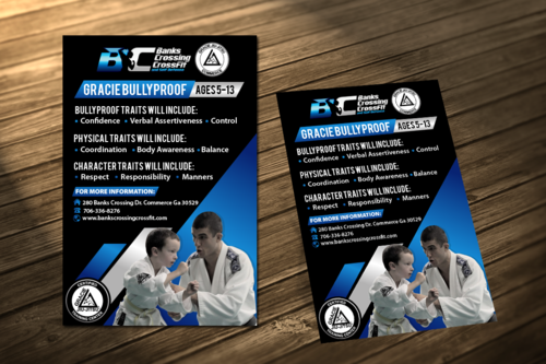 Bullyproof Marketing collateral Winning Design by decentdesign