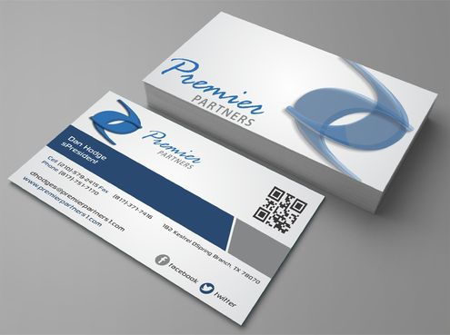Premier Partners Business Cards and Stationery  Draft # 232 by Dawson