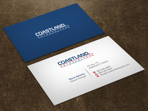 Coastland Enterprises Business Cards and Stationery  Draft # 1 by Xpert