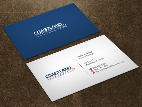 Coastland Enterprises Business Cards and Stationery  Draft # 2 by Xpert