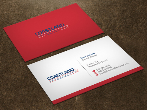 Coastland Enterprises Business Cards and Stationery  Draft # 4 by Xpert
