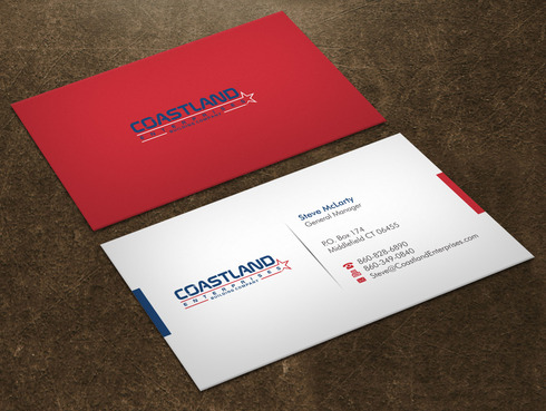 Coastland Enterprises Business Cards and Stationery  Draft # 5 by Xpert