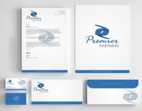 Premier Partners Business Cards and Stationery  Draft # 233 by Dawson