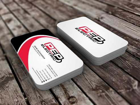 PEP Electric LLC Business Cards and Stationery  Draft # 292 by Dawson