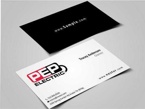 PEP Electric LLC Business Cards and Stationery  Draft # 297 by Dawson