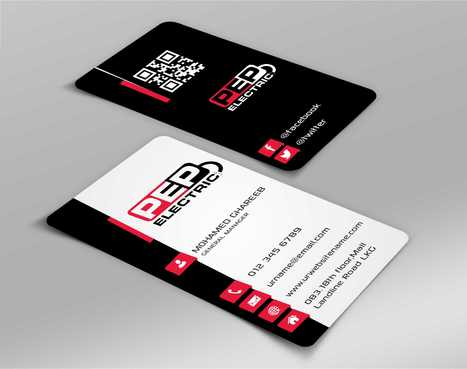 PEP Electric LLC Business Cards and Stationery  Draft # 299 by Dawson
