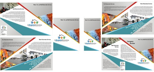 Water, Fire, and Mold Restoration Services Marketing collateral  Draft # 13 by tinus1878