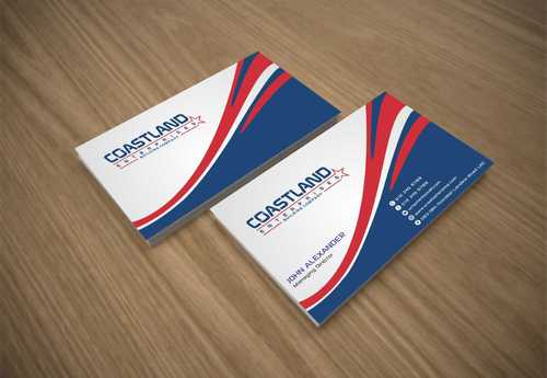 Coastland Enterprises Business Cards and Stationery  Draft # 125 by Dawson