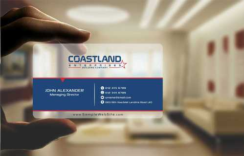 Coastland Enterprises Business Cards and Stationery  Draft # 128 by Dawson