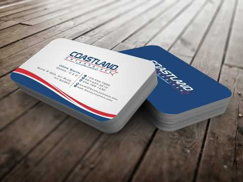 Coastland Enterprises Business Cards and Stationery  Draft # 129 by Dawson