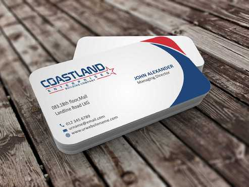 Coastland Enterprises Business Cards and Stationery  Draft # 131 by Dawson