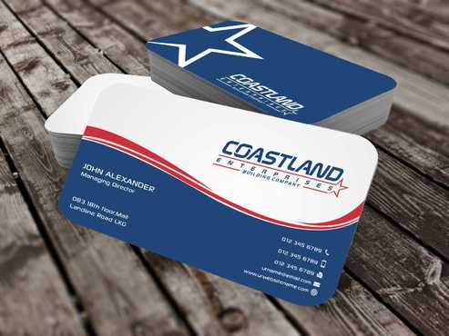 Coastland Enterprises Business Cards and Stationery  Draft # 133 by Dawson
