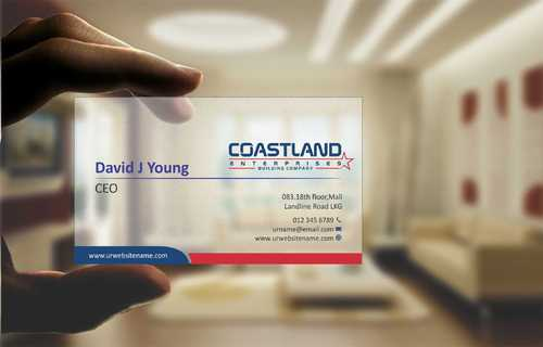 Coastland Enterprises Business Cards and Stationery  Draft # 134 by Dawson