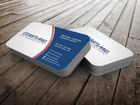 Coastland Enterprises Business Cards and Stationery  Draft # 136 by Dawson