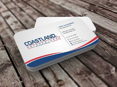 Coastland Enterprises Business Cards and Stationery  Draft # 144 by Dawson