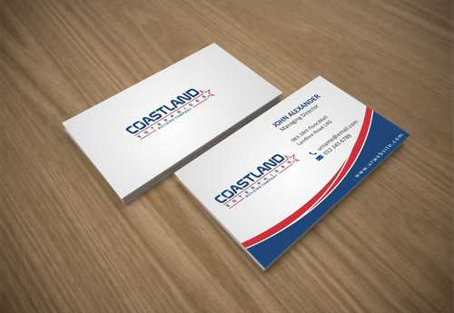 Coastland Enterprises Business Cards and Stationery  Draft # 145 by Dawson