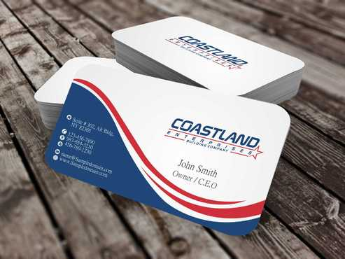 Coastland Enterprises Business Cards and Stationery  Draft # 146 by Dawson