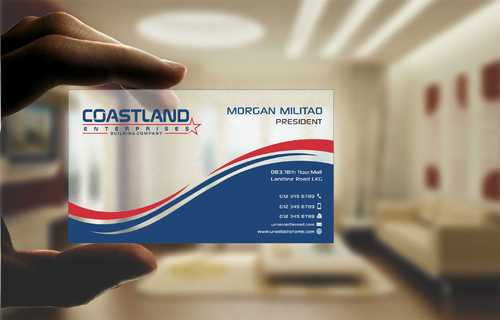 Coastland Enterprises Business Cards and Stationery  Draft # 148 by Dawson