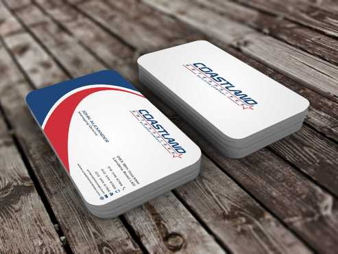 Coastland Enterprises Business Cards and Stationery  Draft # 149 by Dawson