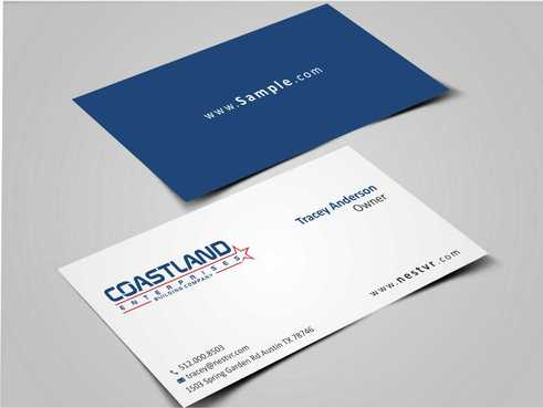 Coastland Enterprises Business Cards and Stationery  Draft # 153 by Dawson