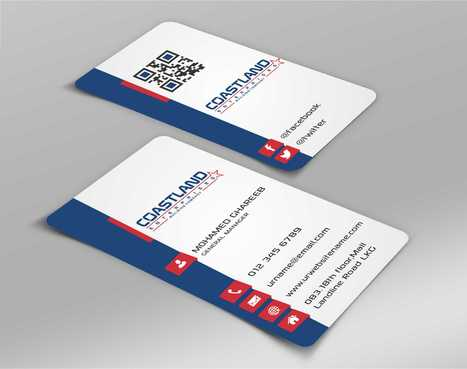 Coastland Enterprises Business Cards and Stationery  Draft # 155 by Dawson