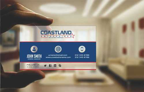 Coastland Enterprises Business Cards and Stationery  Draft # 157 by Dawson