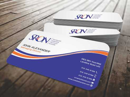 Southland Radiation Oncology Network Business Cards and Stationery  Draft # 124 by Dawson