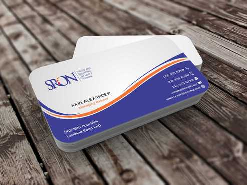 Southland Radiation Oncology Network Business Cards and Stationery  Draft # 126 by Dawson