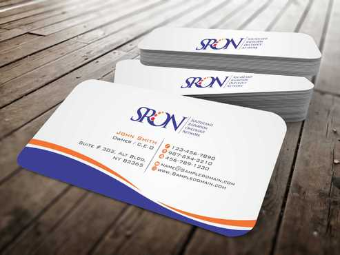 Southland Radiation Oncology Network Business Cards and Stationery  Draft # 129 by Dawson