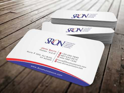 Southland Radiation Oncology Network Business Cards and Stationery  Draft # 132 by Dawson