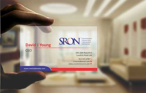 Southland Radiation Oncology Network Business Cards and Stationery  Draft # 133 by Dawson