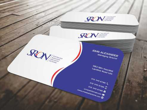 Southland Radiation Oncology Network Business Cards and Stationery  Draft # 137 by Dawson
