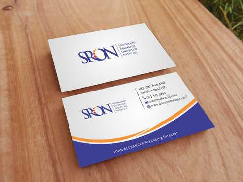 Southland Radiation Oncology Network Business Cards and Stationery  Draft # 144 by Dawson